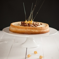 Honey Hazelnut Cheesecake Recipe