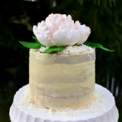 Irish Cream Birthday Cake