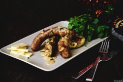 Irish Sausage Plate