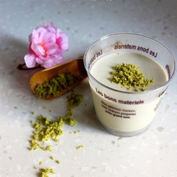 Jasmine Green Tea Panna Cotta