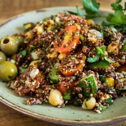 Jerusalem Inspired Quinoa Salad