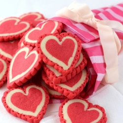 Lace Heart Cutout Cookies Recipe