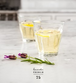 Lavender French 75.