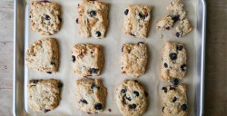 Lemon Blueberry Oat Scones Recipe