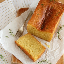 Lemon Thyme Cake Recipe