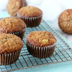 Loaded Carrot Muffins