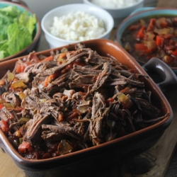 Machaca Beef Brisket Recipe