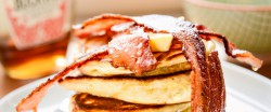Mascarpone Honey Pancakes Recipe