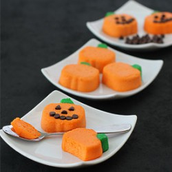 Mini Cheesecake Pumpkins