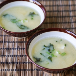Miso Soup from Scratch