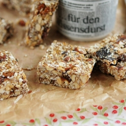 Molasses Granola Bars Recipe