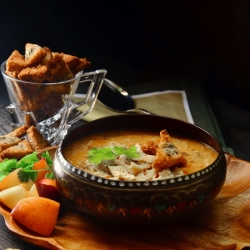 Nectarine Chicken Red Lentil Soup Recipe