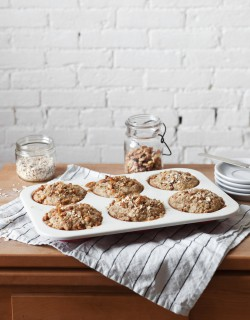 Oat and Banana Nut Muffins Recipe