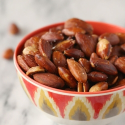 Olive Oil Roasted Almonds Recipe