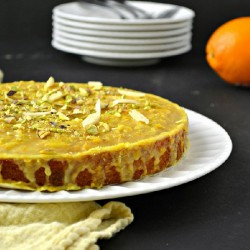 Orange Cake with Orange Glaze