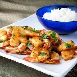 Orange-Glazed Shrimp