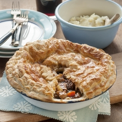 Ox Cheek Guinness Stew Pot Pie Recipe