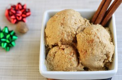 Paleo Egg Nog Ice Cream