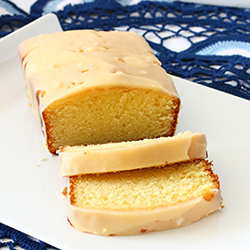 Passion Fruit Buttermilk Pound Cake