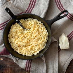 Pasta with Tomato Scented Butter Recipe
