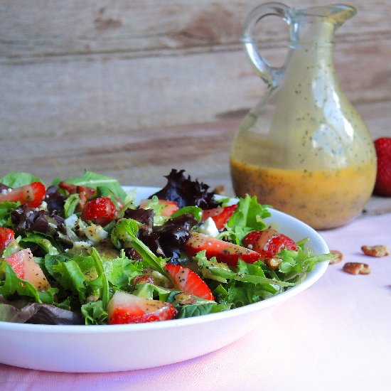Peach Poppy Seed Vinaigrette