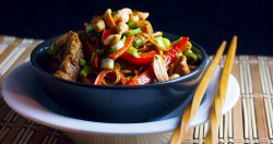 Peanut Butter Noodles with Pork Recipe
