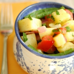 Potato, Tomato, Green Bean Salad