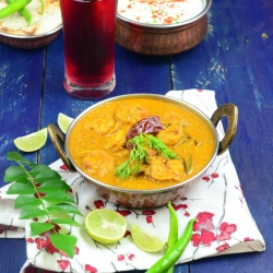 Prawns in Coconut Milk Gravy Recipe