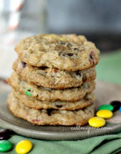 Pretzel Oatmeal Chocolate Chip Cookies Recipe