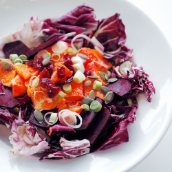Radicchio and Blood Orange Salad