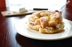 Raspberry and Brie Croissant