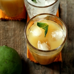 Raw Mango Cooler for Summer