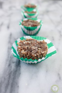 Raw Nutty Seed Cupcakes