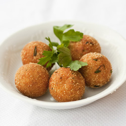 Ricotta and Tuna Balls