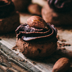 Roasted Almond Black Pepper Truffles