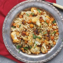 Roasted Cauliflower Couscous