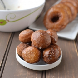 Roasted Chestnut Donuts Recipe