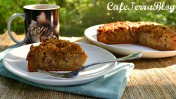 Roasted Pear Coffee Cake