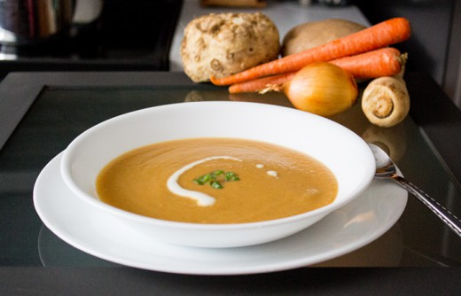 Roasted Root Vegetable Bisque Recipe