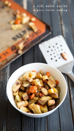 Roasted Sweet Potatoes Apples and Carrots Recipe