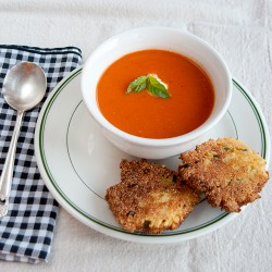 Roasted Tomato and Garlic Soup Recipe