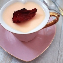 Rose Water Panna Cotta Recipe