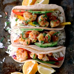 Rosemary Citrus Shrimp Tacos