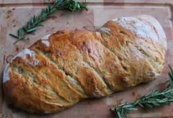 Rosemary Loaf Bread Recipe