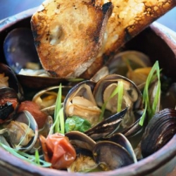 Sake Butter Clams Recipe