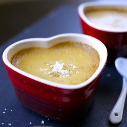 Salted Caramel Brown Sugar Pots de Creme Recipe