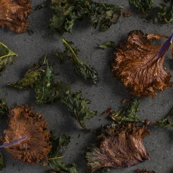 Salted Spiced Kale Chips Recipe
