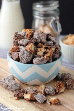 Samoa Muddy Buddies Recipe