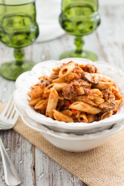 Sausage and Mushroom Ragu Recipe