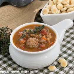 Sausage Lentils and Vegetable Chowder Recipe